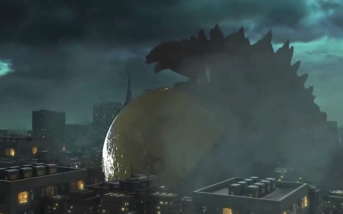 Godzilla Vs.Pac-Man : 街に突如、出現した巨大なパックマンが、おなじみのモンスターではなく、怪獣王のゴジラに行く手を阻まれてしまうアクション・ショート・フィルム「ゴジラ Vs.パックマン」! !