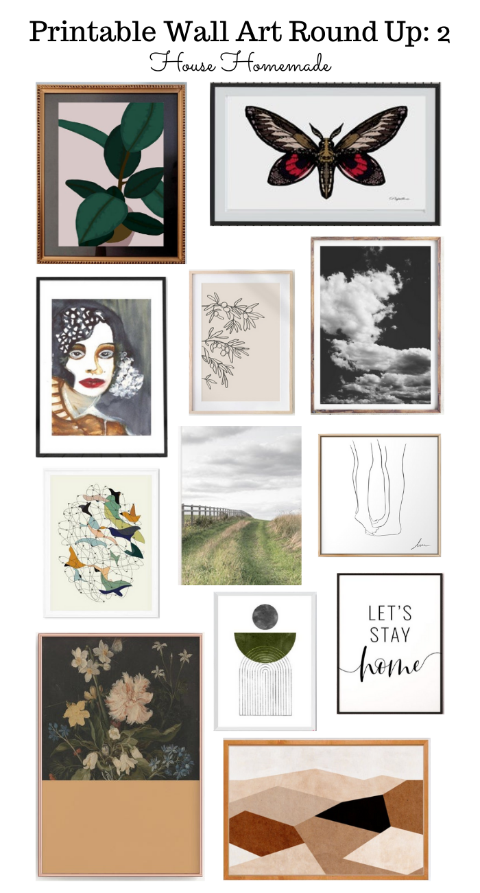 printable art round up