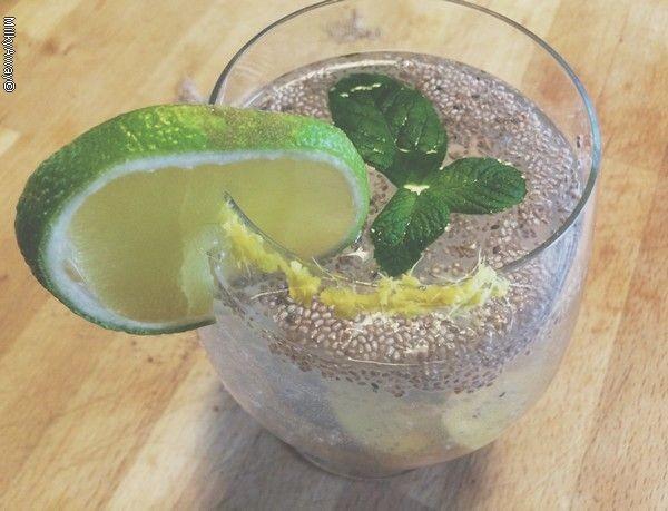 Recette Chia Fresca boisson rafraîchissante made in Mexique avec Markal
