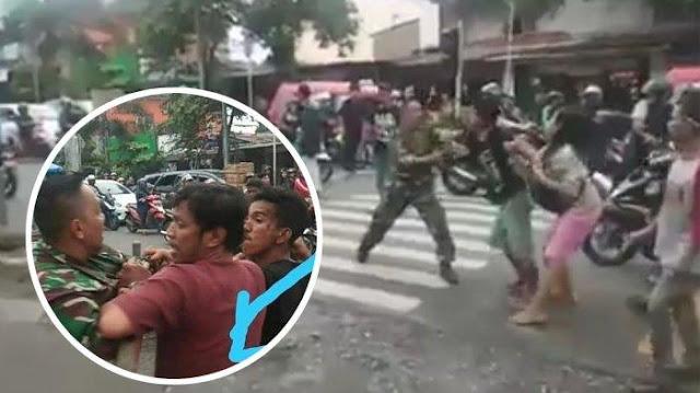 Tukang Parkir Pengeroyok Anggota TNI Ditangkap, 3 Rekannya Diburu