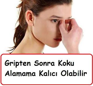 Gripten Sonra Koku Alamama Kalıcı Olabiliyor