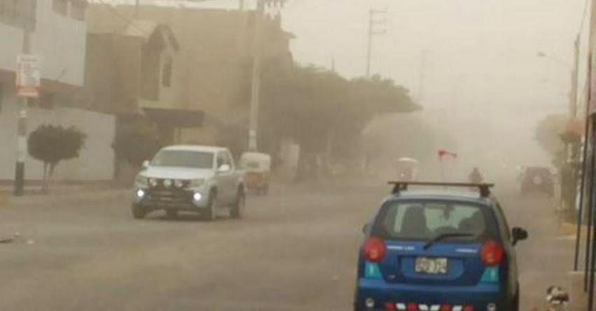 SENAMHI ALERTA: Vientos en la Costa superarán los 35 kilómetros por hora