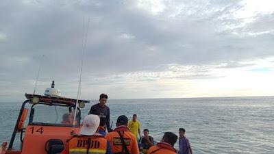 Satu Korban Long Boat yang  Dihantam Ombak, Ditemukan Tak Bernyawa