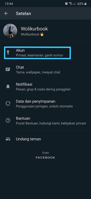 Cara Menyembunyikan Status Whatsapp 2