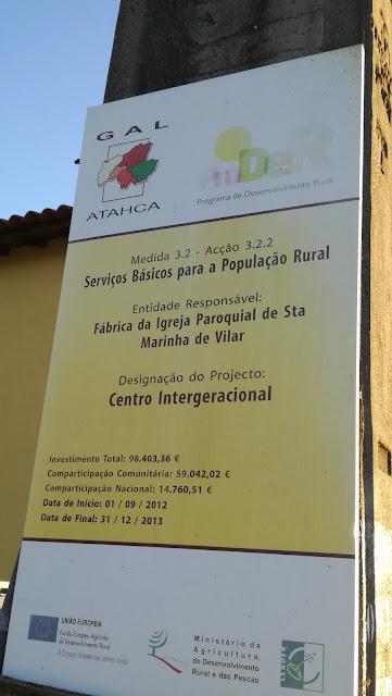 Projecto Centro Intergeracional de Vilar