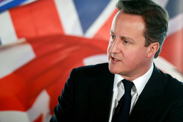 Primeiro-ministro do Reino Unido David Cameron
