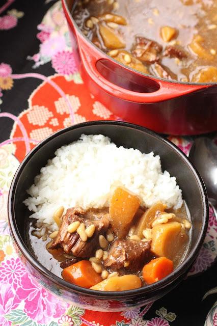 boeuf et legumes en cocotte coree