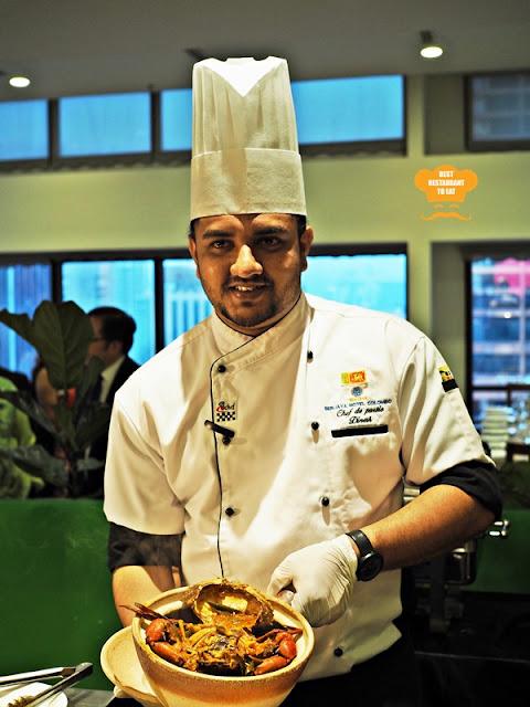 Berjaya Times Square Hotel Kuala Lumpur Chef J.M.D.k Jayawardhana and Chef H.L.M Hettiarachchi