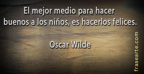 Frases felices - Oscar Wilde