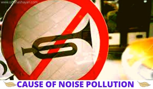 Cause of noise pollution in India