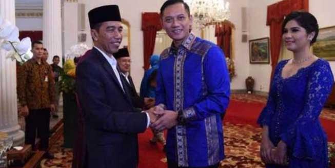 Kata Lembaga Survei ini, Jika Jokowi Gandeng AHY Diprediksi Menang Telak