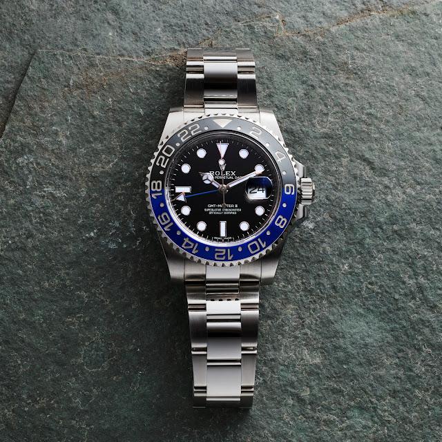 Rolex GMT Master II Batman Ref. 116710BLNR