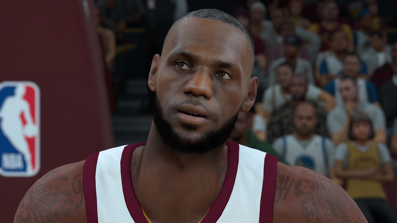 DNA Of Basketball | DNAOBB: NBA 2K18 Lebron James Cyberface by LitDRCat