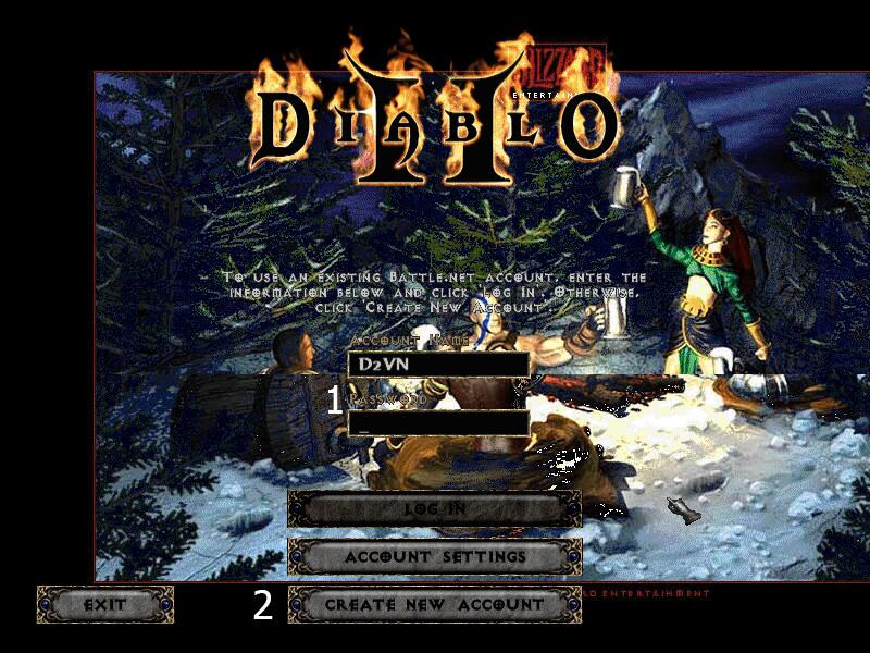 Tải và cài đặt Diablo 2 Online (PC)