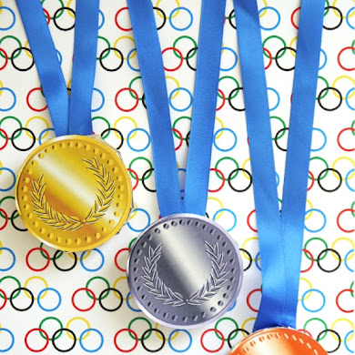 DIY Chocolate Olympic Medals