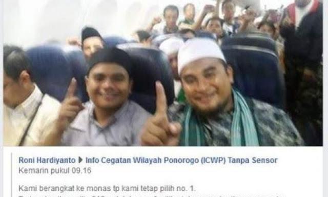 Heboh Foto Peserta Reuni 212 Dukung Jokowi, Ternyata Hoax, Ini Fakta Sebenarnya!
