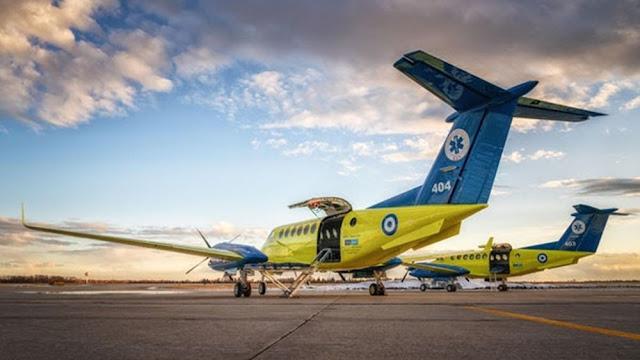 Δύο νέα αεροσκάφη στο ΕΚΑΒ δωρεά του Ιδρύματος Σταύρος Νιάρχος