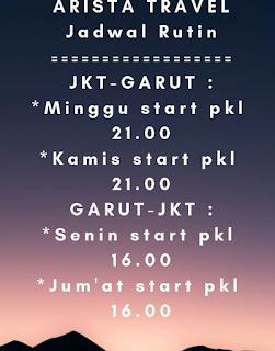 Jadwal Travel Jakarta Garut