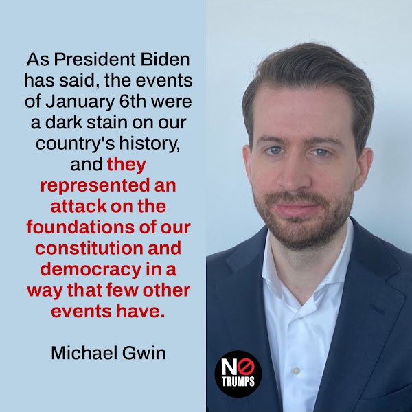 As President Biden has said, the events of January 6th were a dark stain on our country's history, and they represented an attack on the foundations of our constitution and democracy in a way that few other events have. — Michael Gwin, Director of Rapid Response at The White House