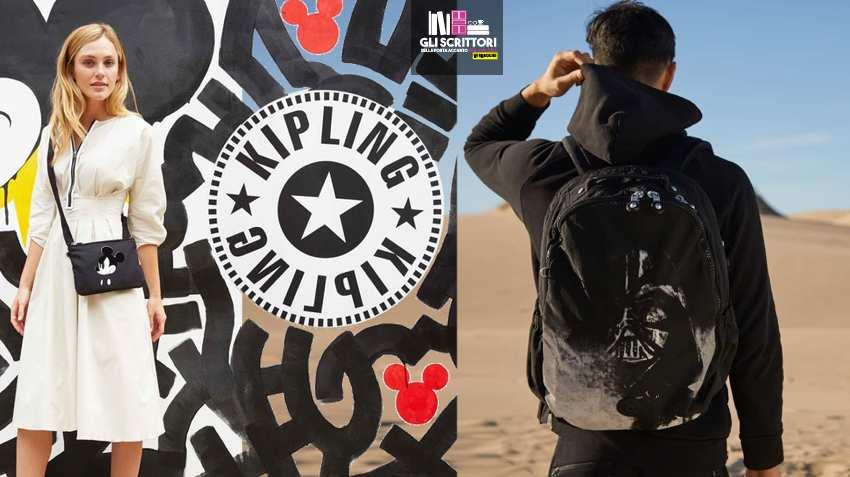 Kipling: borse e zaini ispirati a Mickey Mouse e Star Wars