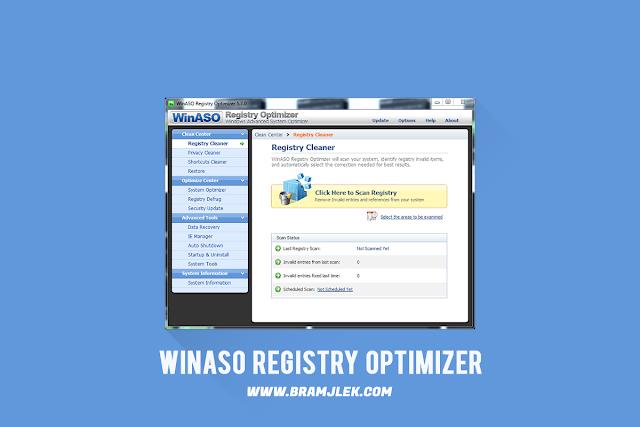 Download WinASO Registry Optimizer For PC