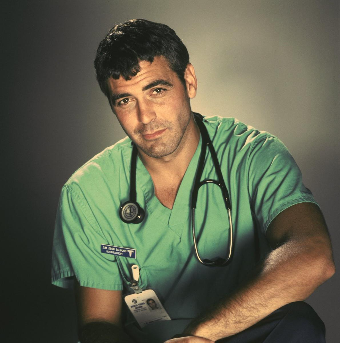 emergency-room-soap-television-hunks-george-clooney-doctor-ross