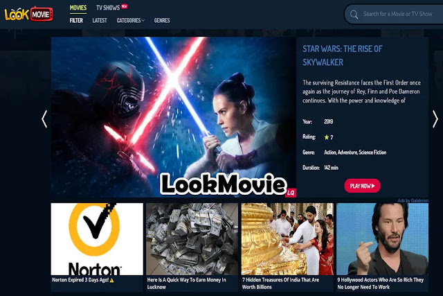 LookMovie : Watch TV Online Free Streaming