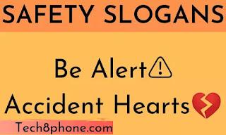 Safety slogan in english , safety slogan image