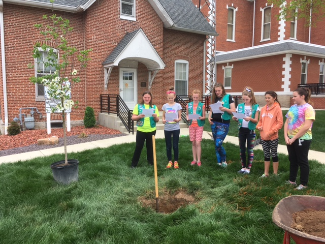 Girl Scouts Of Southern Illinois Troop 2921 Earns The -8594