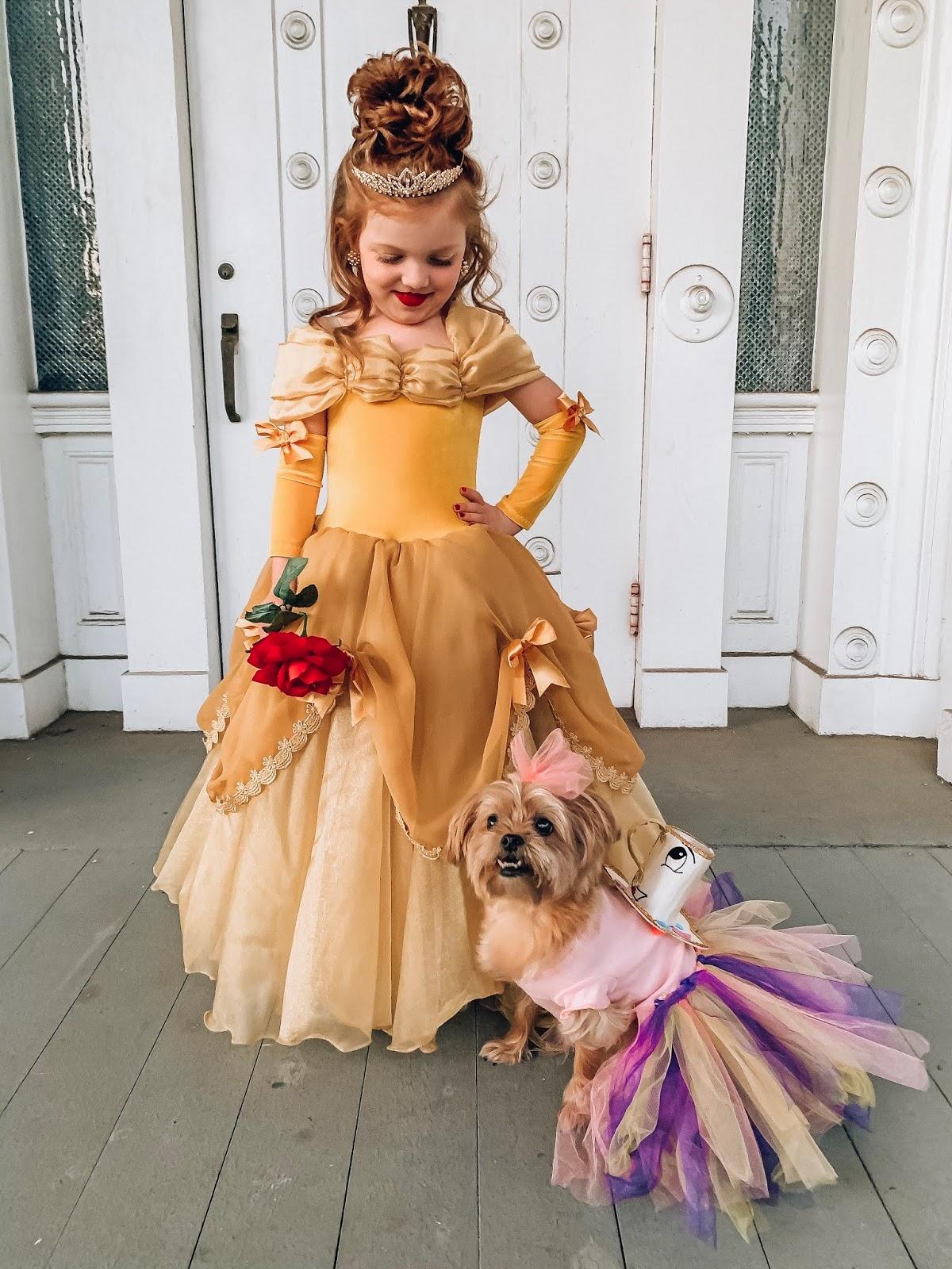 Halloween 2019: A Beauty & The Beast Halloween - Something Delightful Blog #familycostumeideas #beautyandthebeast #halloween #costumeideas