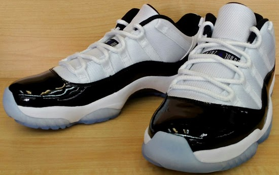 Air Jordan 11 Retro Low White Black-Dark Concord Available Early On eBay c18ecef68