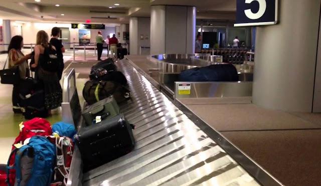 Парень прикрепил в аэропорту на свой чемодан камеру, чтобы узнать куда попадает после регистрации