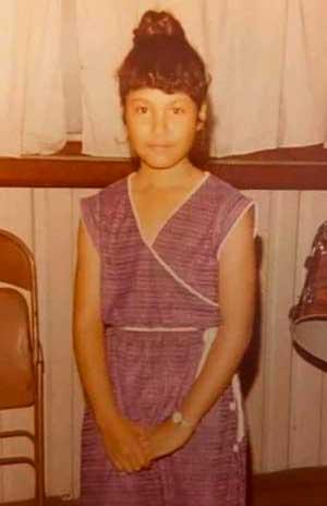 Selena Quintanilla criança