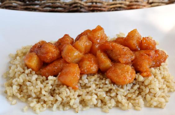 GLUTEN-FREE SWEET AND SOUR CHICKEN #dinner #glutenfree #chicken #yummy #soup