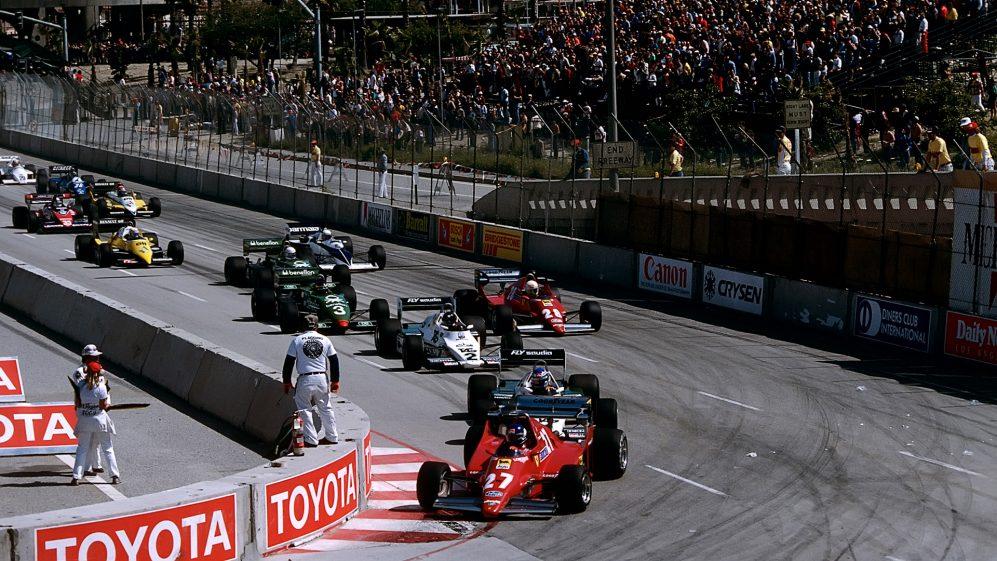 Long Beach é um circuito de rua lendário - e nunca houve um vencedor repetido da Fórmula 1 lá