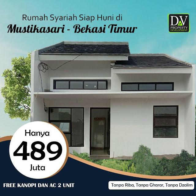 Adzkia Residence, Perumahan Dan Kavling Siap Bangun 3 Km ke Stasiun  LRT Bekasi timur