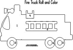 busy firefighter coloring pages | The Very Busy Kindergarten: Fire Safety Activities