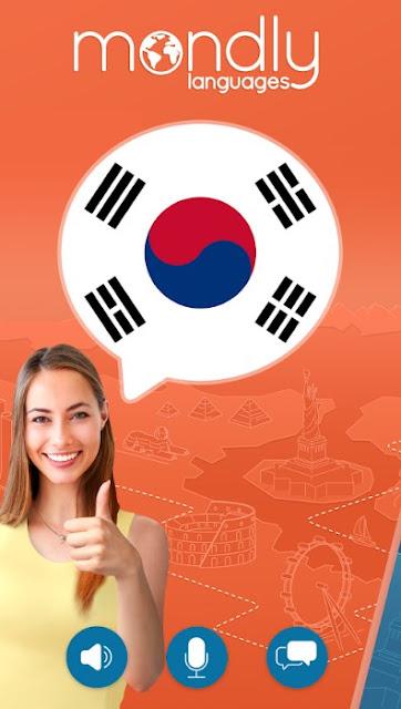Mondly - Belajar Bahasa Korea Gratis