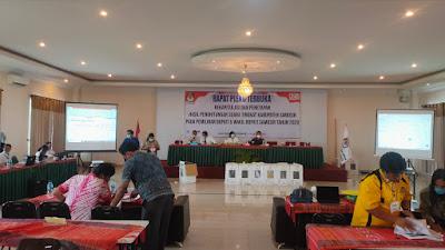 KPU Samosir Tetapkan Rekapitulasi, Vandiko-Martua Menang 52 Persen