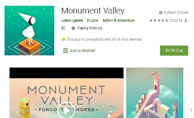 best paid game for android