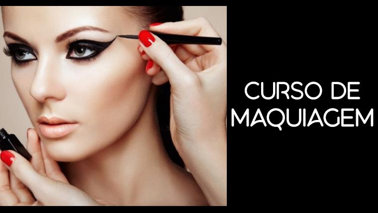 Curso de maquiagem online, grátis e com certificado