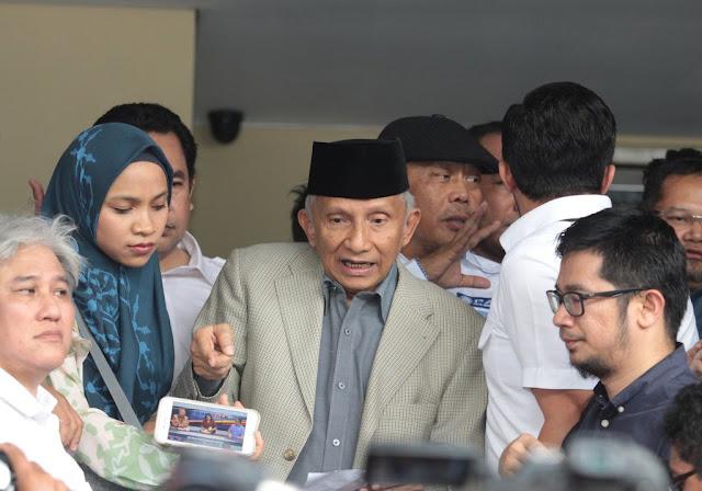 "Ciri Penyerang Amien Rais Tak Ingin Kabinet Diisi Kader Partai, ""Mereka Senang Adu Domba"""