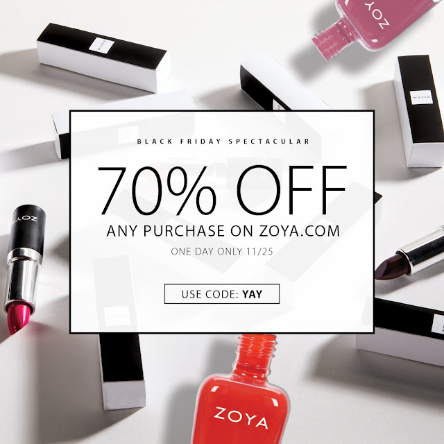 Zoya Black Friday 70% Off Sale