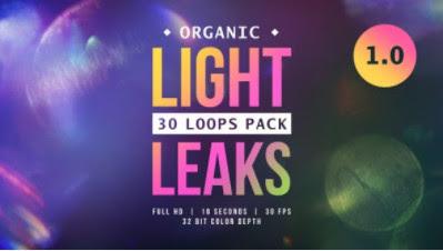 Futazi – VideoHive – Organic Light Leaks 1.0 – 24079300 [MOV]
