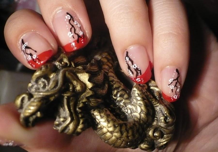 ACRYLIC NAILS: Chinese nail designs-Acrylic Nails