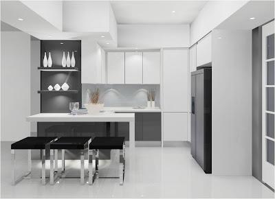 Pilihan Kabinet Dari Rona Cerah Dapat Meluaskan Lagi Ruang Dapur Anda Dengan Penggudaraan Yang Baik Berserta Tingkap Luas
