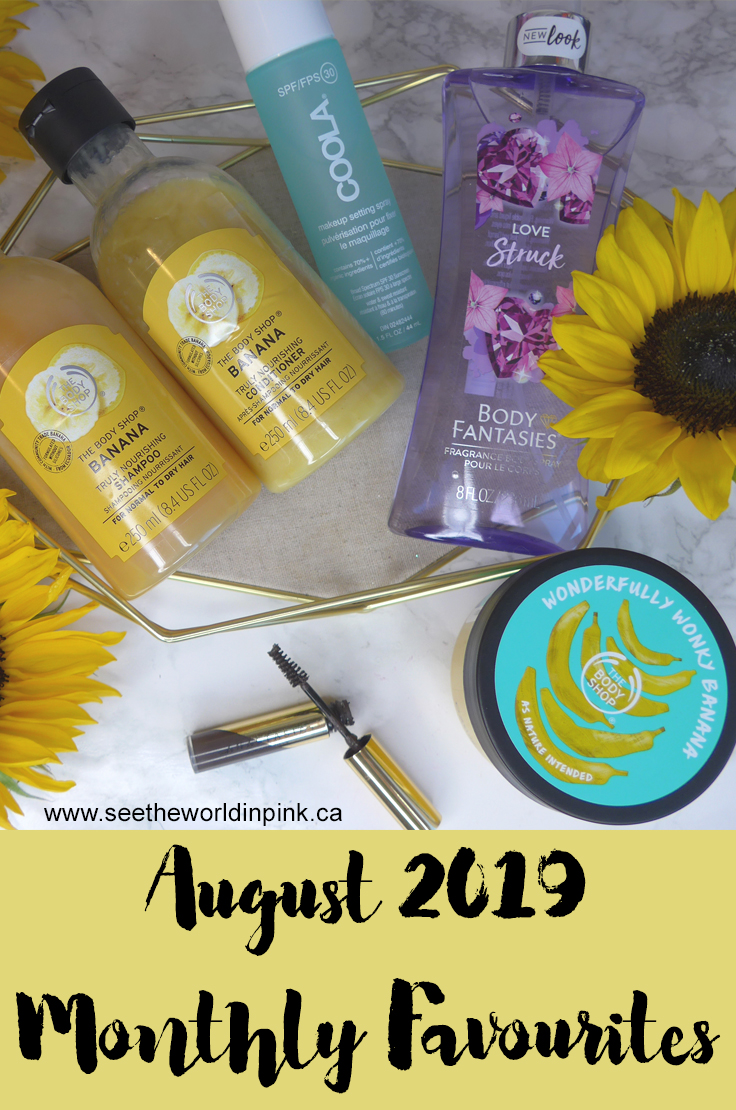 August 2019 - Monthly Favourites!