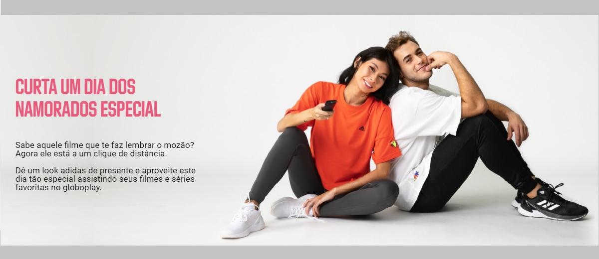 Promoção Adidas Dia dos Namorados 2021 Compre Ganhe Globoplay Grátis