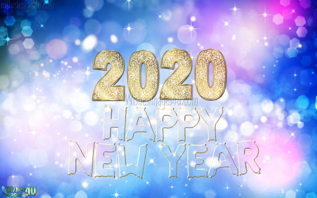 Happy New Year 2020 HD Sparkling Images Download Free