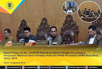 Banyak Pimpinan OPD Tak Hadiri Paripurna Dewan, Wakil Walikota Bima Kecewa